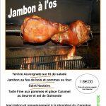 Soirée Jambon à l'os : le 28 juillet