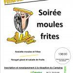 Soirée Moules/Frites : le 11 Août
