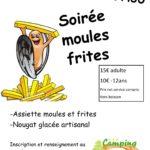 Soirée moules frites jeudi 26 Juillet