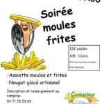 Soirée Moules/frites Jeudi 16 Août