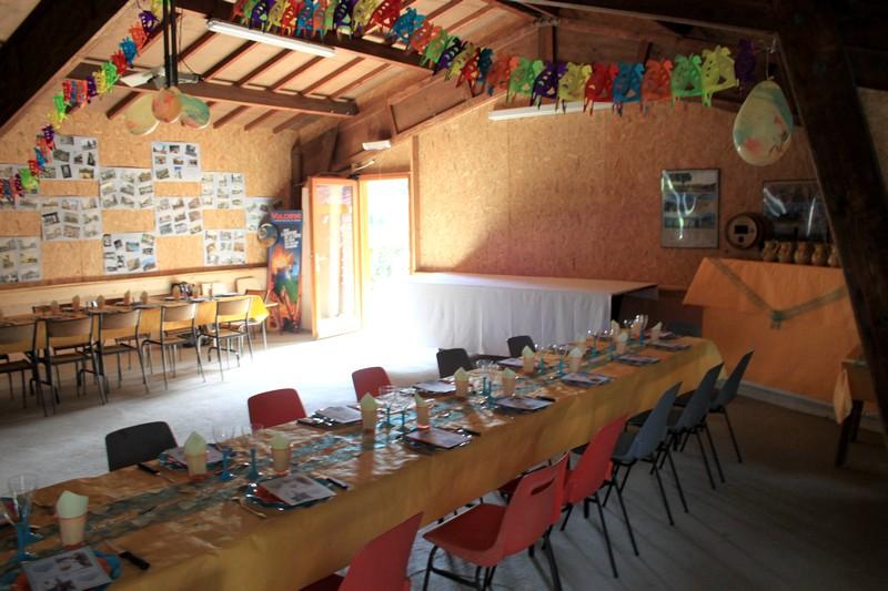 Salle pour repas réunion