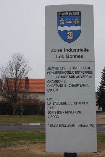 Zone Industrielle les Bonnes