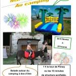 animation pur enfants camping en auvergne