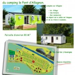 location parcelle camping puy de dome
